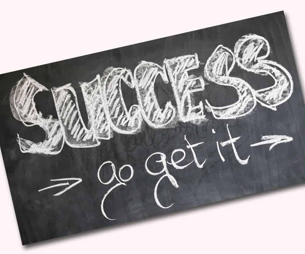 Go get it - success - Claresco BeautySchool